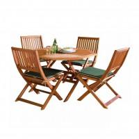 Bộ bàn ghế gỗ ngoài trời bp020