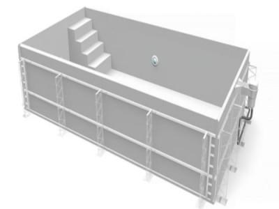 Ưu điểm của hồ bơi Composite