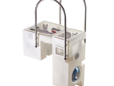 Bộ hệ thống lọc hồ bơi treo tường dùng trong xử lý nước