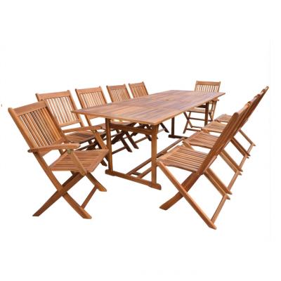 Bộ bàn ghế gỗ sân vườn pb024