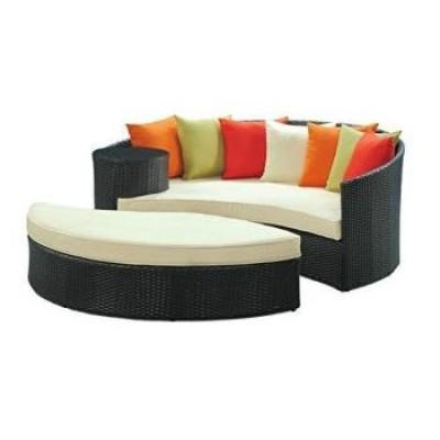 Bộ sofa giả mây cách điệu