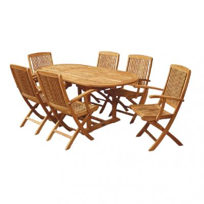 Bộ bàn ghế gỗ sân vườn cao cấp