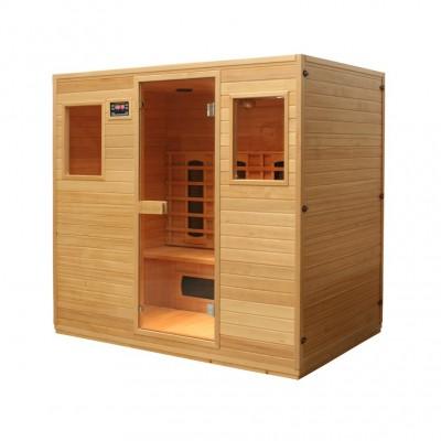 Kết cấu phòng xông hơi - sauna