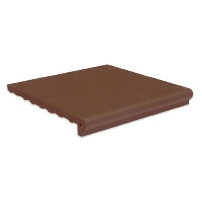 Gạch viền hồ màu chocolate