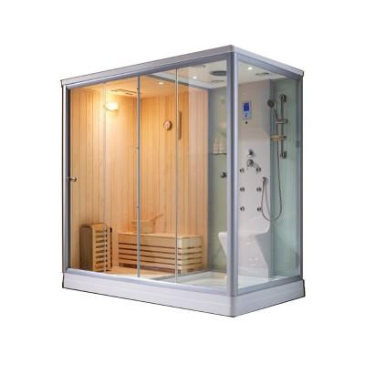 Thiết kế phòng xông hơi ướt dạng kính hiện đại