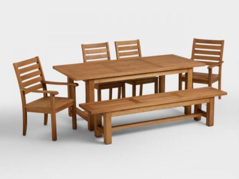 Bộ bàn ghế ngoài trời đẹp
