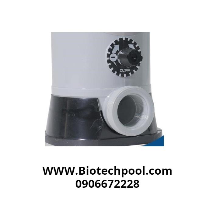 Hệ thống thiết bị châm Clo trong xử lý nước hồ bơi