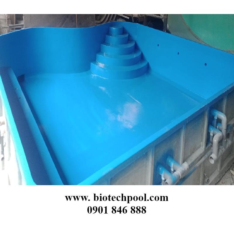 hồ bơi composite giá rẻ tại HCM
