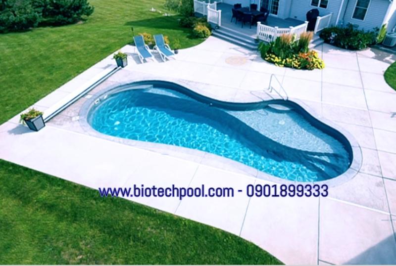 bể bơi cho sân thượng