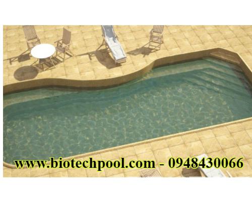 Bể bơi mini composite cao cấp 1