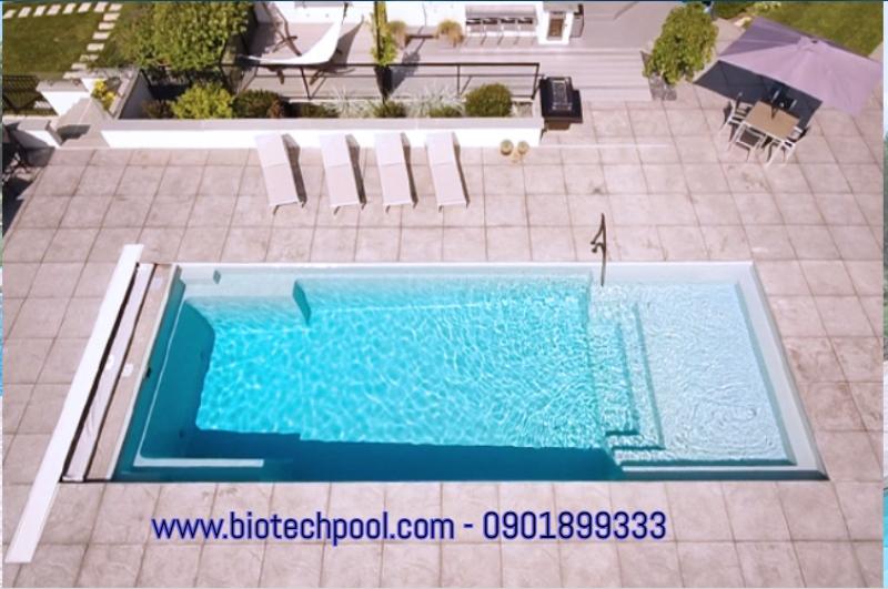 bể bơi mini composite đẹp