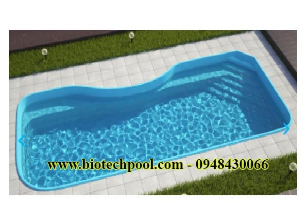 Bể bơi minicomposite đẹp 1