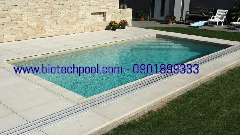 sản xuấy hồ bơi composite theo yêu cầu