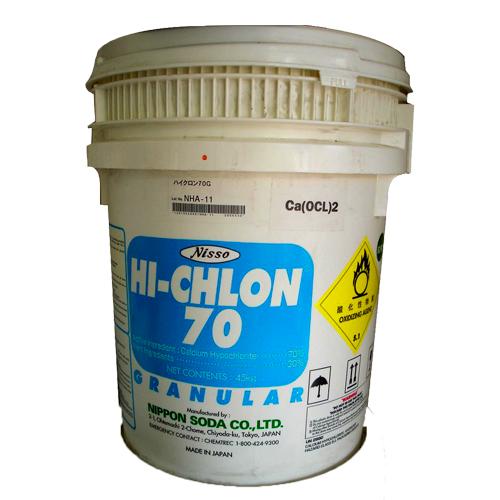 Hóa chất khử trùng chlorine 70%