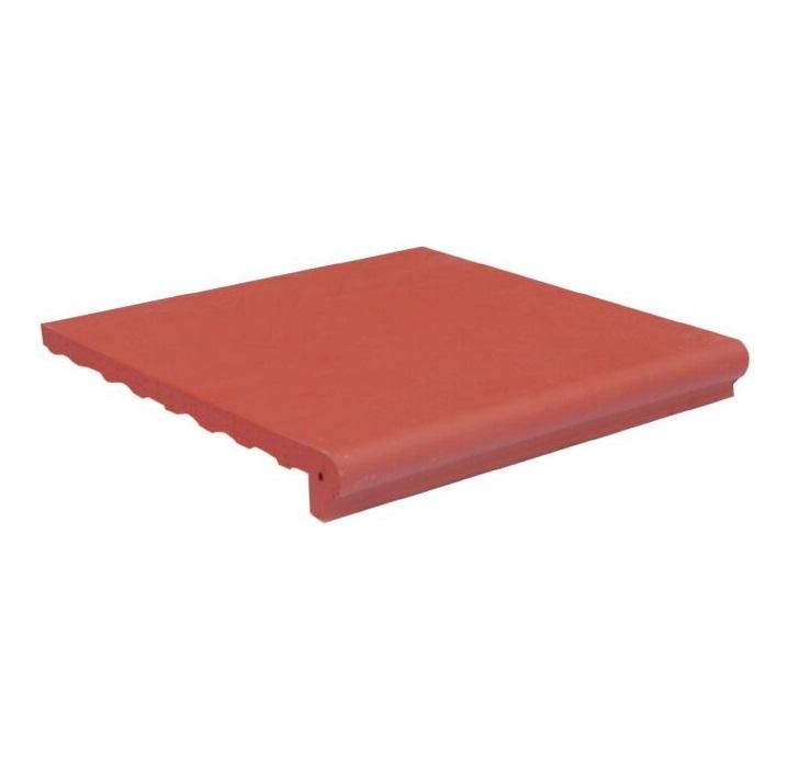 Gạch viền hồ bơi màu đỏ nhạt
