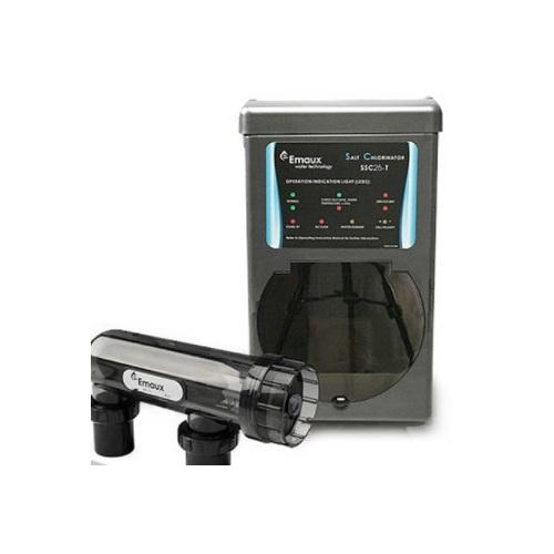 Hệ thống điện phân muối emaux ssc trong xử lý nước hồ bơi