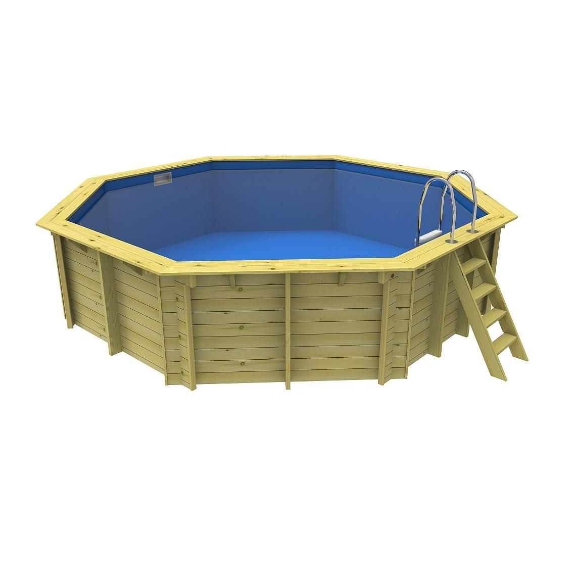 Hồ bơi khung gỗ
