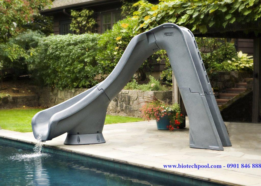 Cầu trượt hồ bơi slide pool CT05, design pool, vật liệu xây dựng hồ bơi, thiết bị hồ bơi, thiết bị bể bơi, thi công hồ bơi, báo giá hồ bơi, thiết kế cảnh quan hồ bơi, thiết kế cảnh quan sân vườn, slide pool, cầu trượt, ván nhảy