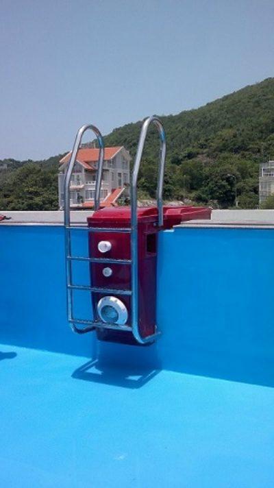 Máy lọc GTF20 thông minh, máy lọc không đường ống ngầm, không phòng kỹ thuật, máy lọc không hồ cân bằng, công nghệ khử trùng diệt khuẩn bằng Ozone & Ion, design pool, xây dựng hồ bơi, thiết kế hồ bơi, cảnh quan hồ bơi, máy xử lý nước hồ bơi
