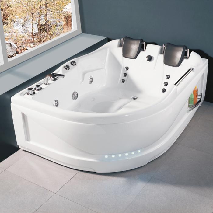 Bảng giá bồn tắm nằm chữ nhật, bồn tắm góc composite, Acrylic tại Sài Gòn