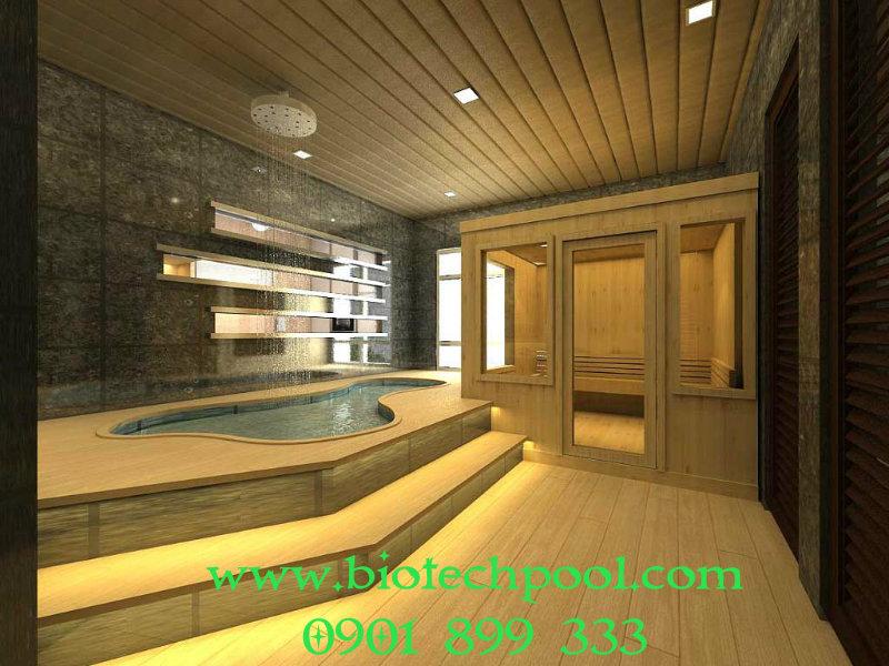 phòng xông hơi sauna