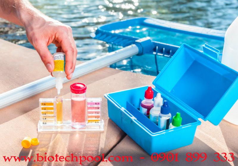 BỘ TEST NƯỚC HỒ BƠI, máy lọc hồ bơi, thi công hồ bơi, thiết kế hồ bơi, bán bàn ghế hồ bơi, bán bàn ghế ngoài trời