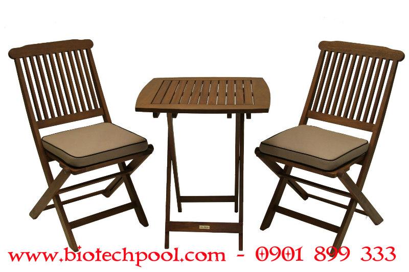 BỘ BÀN GHẾ GỖ SÂN VƯỜN, máy lọc hồ bơi, thiết kế hồ bơi, thi công hồ bơi, bá bàn ghế hồ bơi ngoài trời, bán bàn ghế ngoài trời