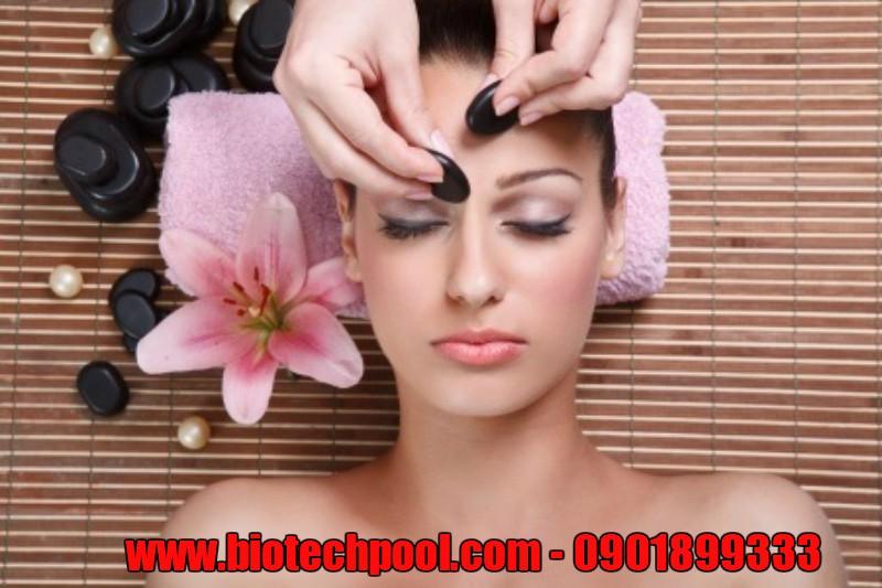 CÔNG DỤNG CỦA ĐÁ MASSAGE NÓNG KHI XÔNG HƠI, mua đá massage ở đâu, lợi ích khi xông hơi, thiết bị xông hơi