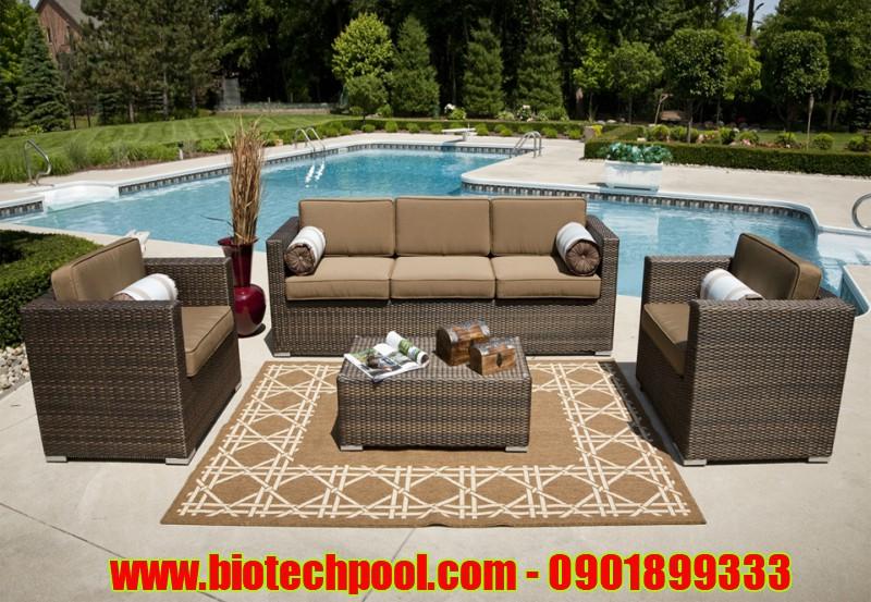 GHẾ NHỰA MÂY VẺ ĐẸP THẨM MỸ CHO HỒ BƠI, thiết bị hồ bơi, máy lọc hồ bơi, bàn ghế nhựa, bàn ghế gỗ, bàn ghế ngoài trời