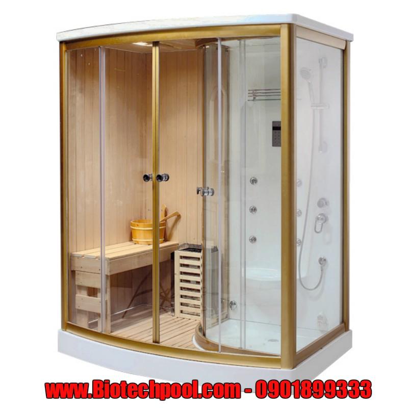 NHỮNG MẪU THIẾT KẾ PHÒNG XÔNG HƠI GIA ĐÌNH, phòng Sauna gia đình, phòng xông hơi ướt gia đình, thiết bị Spa, máy xông hơi