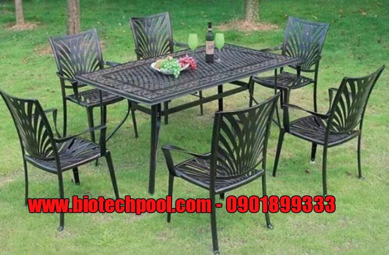 NƠI BÁN BÀN GHẾ NGOÀI TRỜI ĐẸP, ĐỘC ĐÁO, bàn ghế nhôm đúc ngoài trời, bàn ghế nhựa ngoài trời, bàn ghế gỗ, bàn ghế ban công