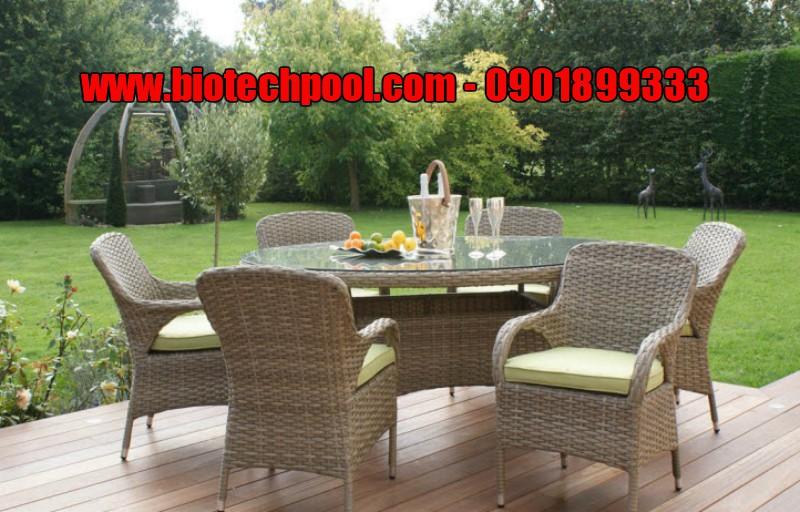 NHỮNG MẪU THIẾT KẾ BÀN GHẾ NGOÀI TRỜI ĐẸP TUYỆT, bàn ghế sân vườn, bàn ghế gỗ, bàn ghế nhựa mây, bàn ghế sofa kết hợp nhựa mây
