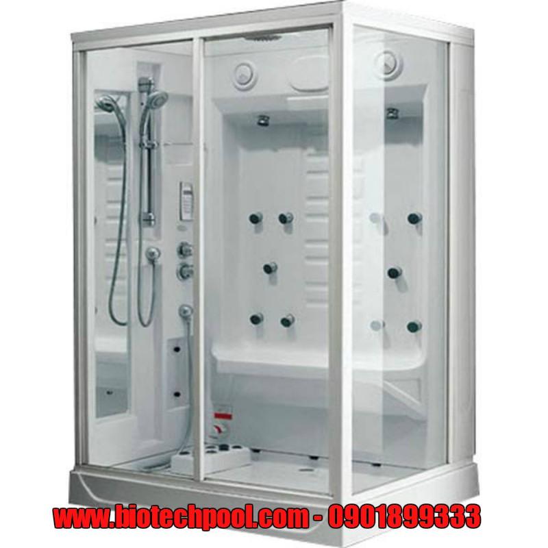THIẾT KẾ PHÒNG XÔNG HƠI ƯỚT DẠNG KÍNH HIỆN ĐẠI, máy xông hơi ướt, thiết bị xông hơi, phụ kiện xông hơi